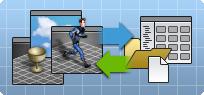 管理场景、文件、项目